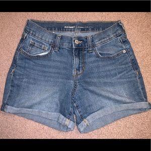 Old Navy Curvy Jean Shorts